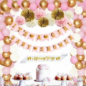 Other - It's a girl baby shower decor set